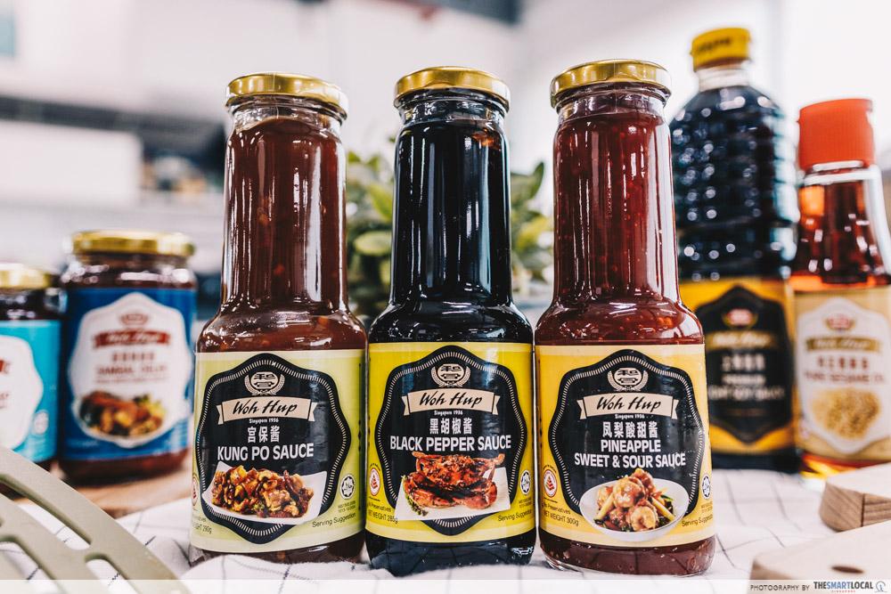 woh hup sauces