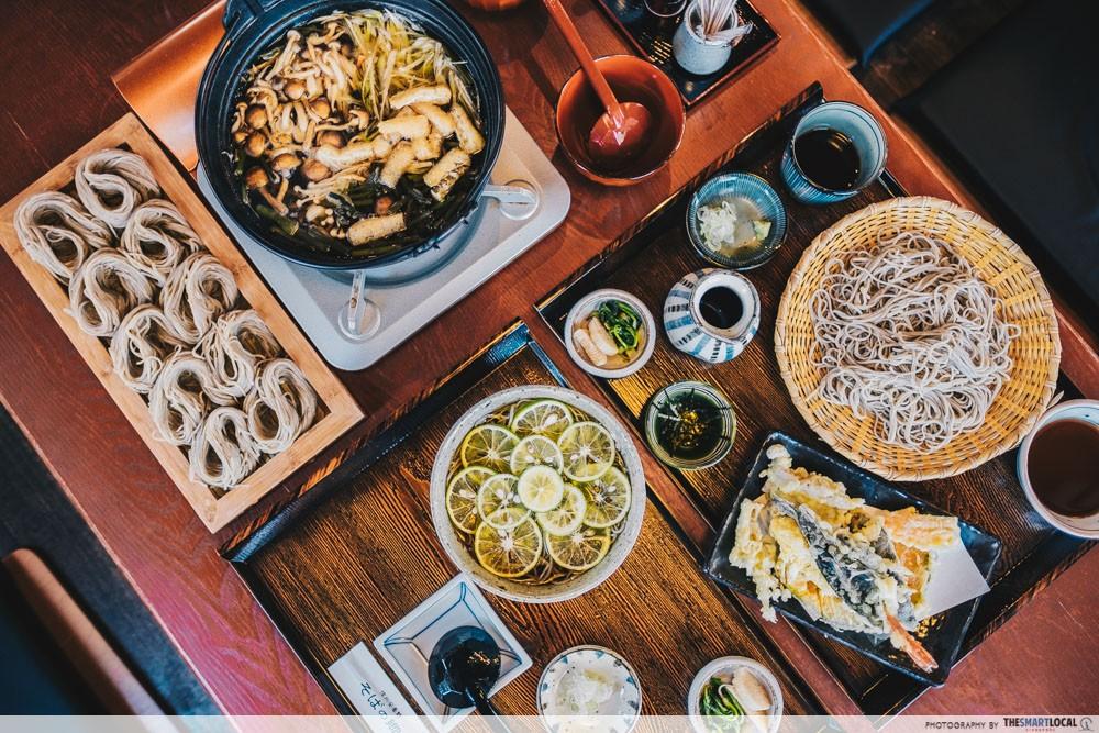 What to eat in Azumino - soba hotpot