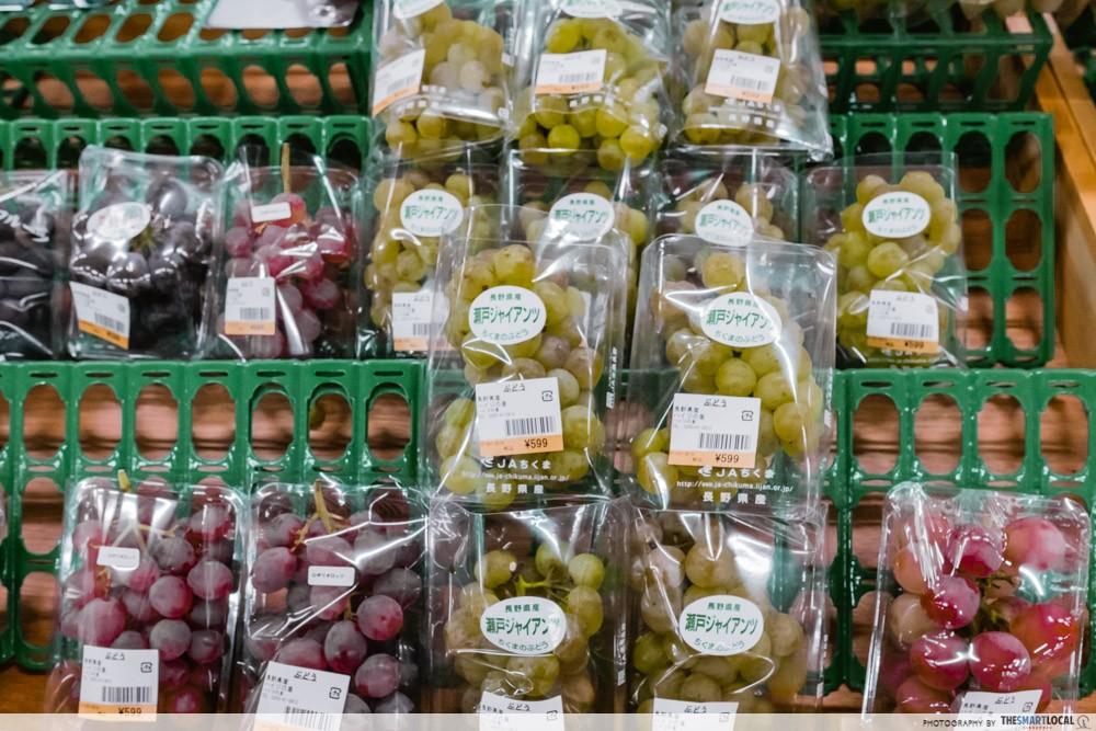 Azumino, Japan - cheap grapes