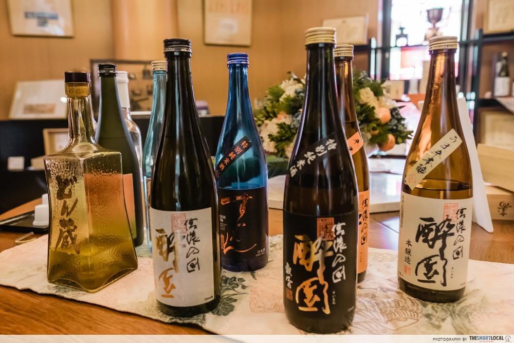 Azumino, Japan - EH Sake Brewery