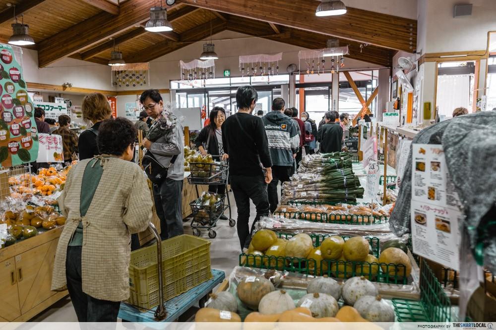 Azumino, Japan - farmers markets