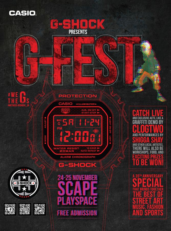 g-fest poster