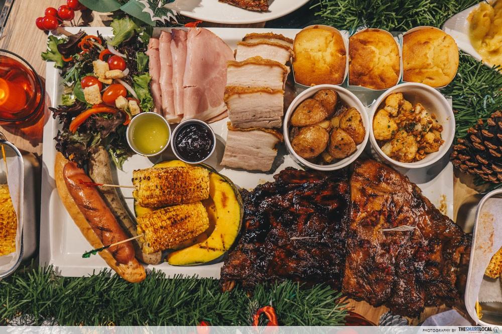 morgans christmas feast