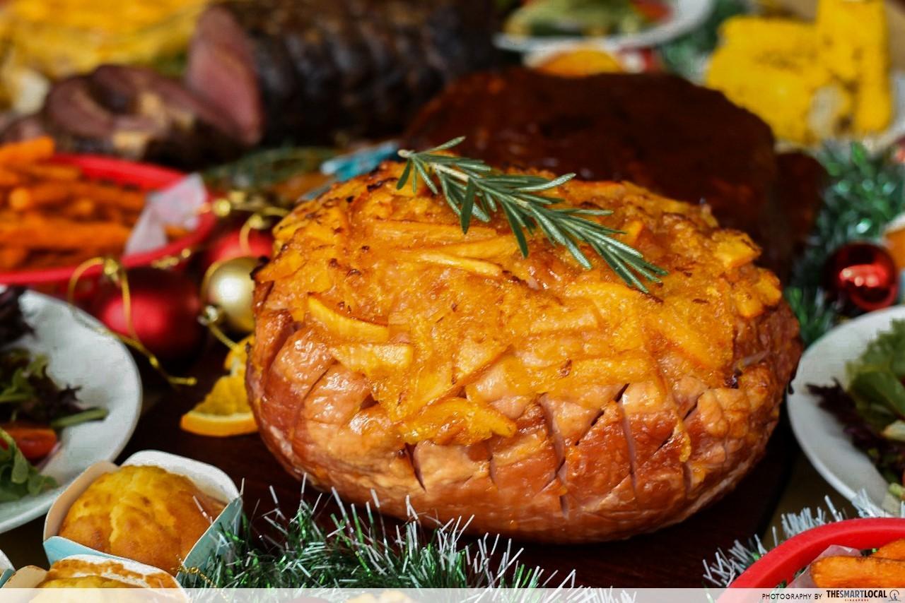 morganfields Orange Marmalade Glazed Whole Gammon Ham
