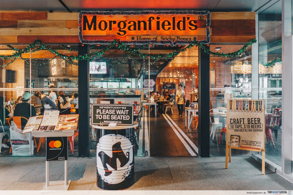 morganfields review