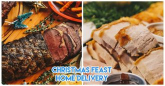 morganfields christmas feast delivery