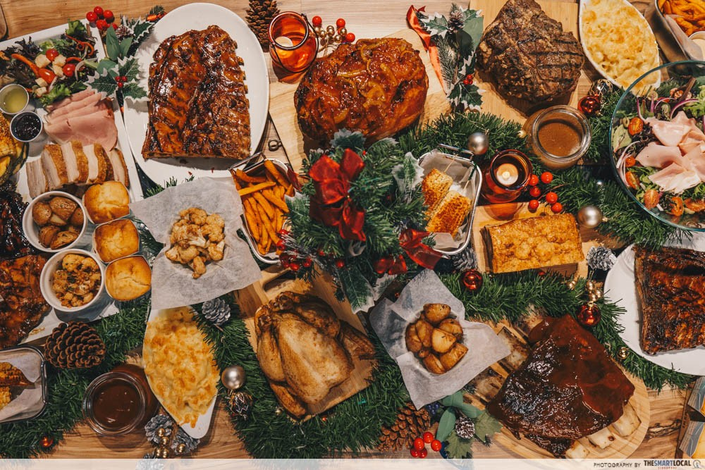 morganfields christmas feast delivery 2018