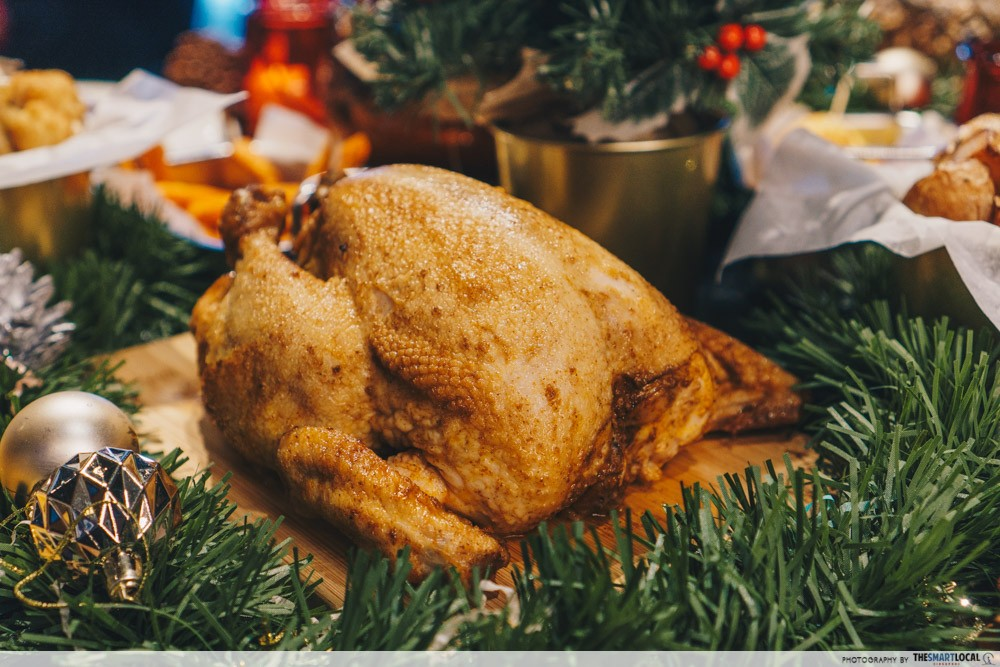 morganfields christmas roast chicken