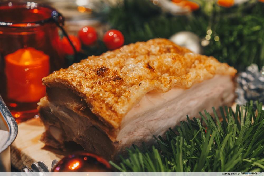 crackling pork roast morganfields christmas