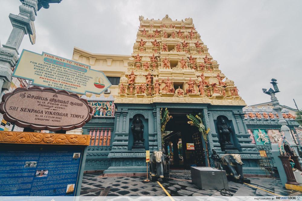 Joo Chiat Katong instawalk - Sri Senpaga Vinayagar Temple