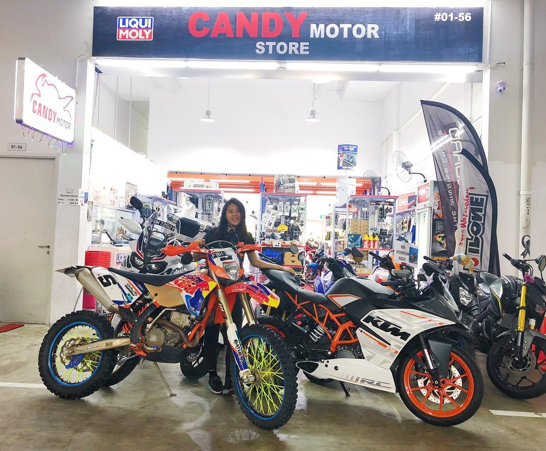 candy motor store