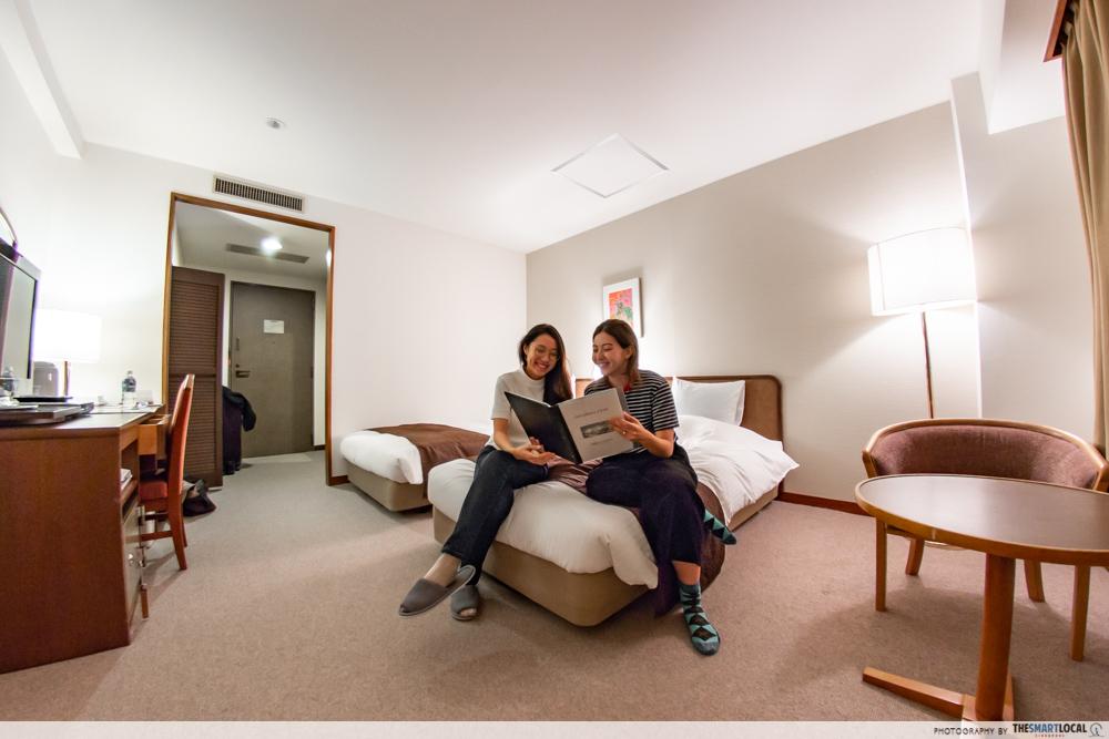 Nagano kamokochi matsumoto guide - Kamikochi Lemeiesta Hotel twin room