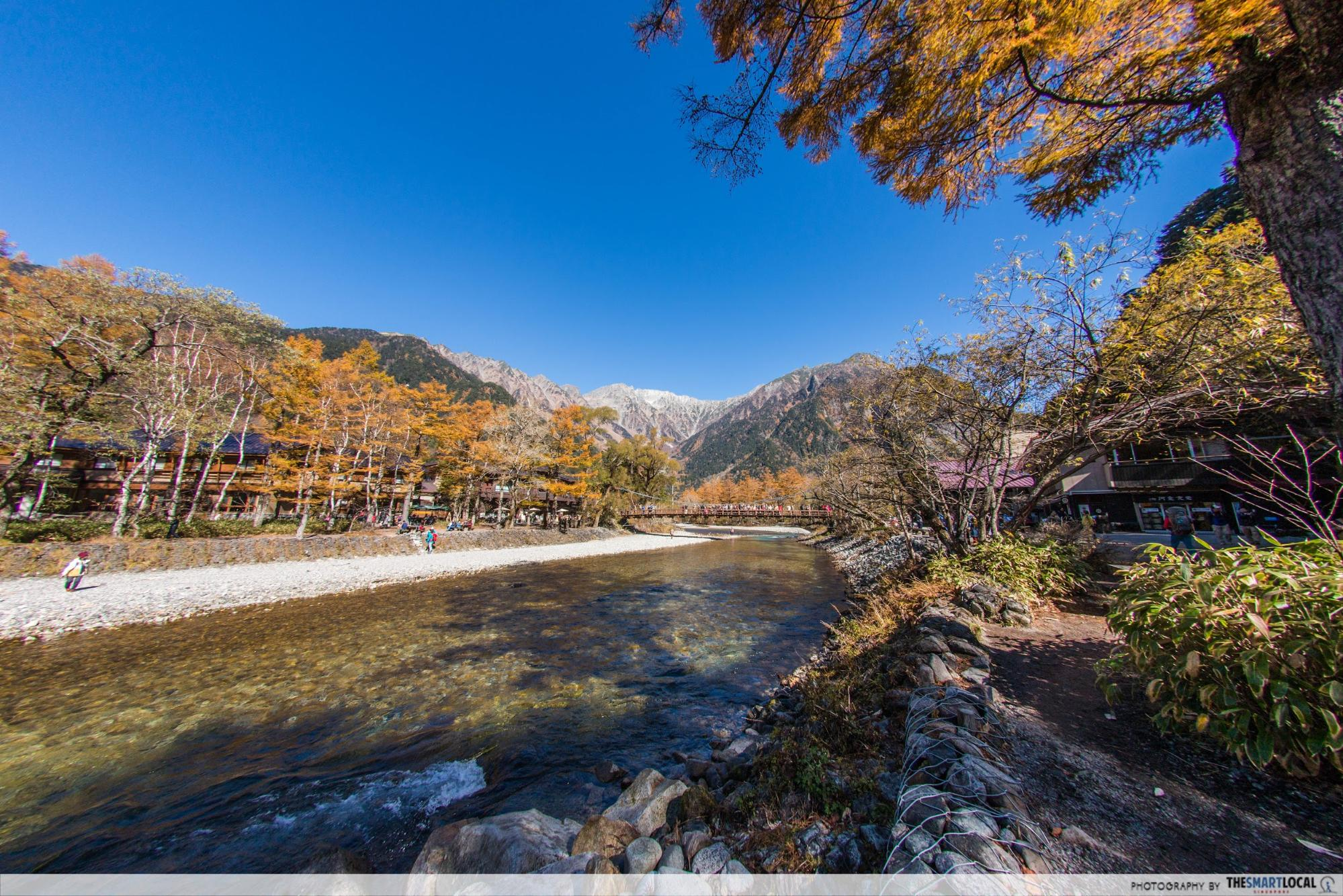 Nagano kamokochi matsumoto guide - kappa bridge