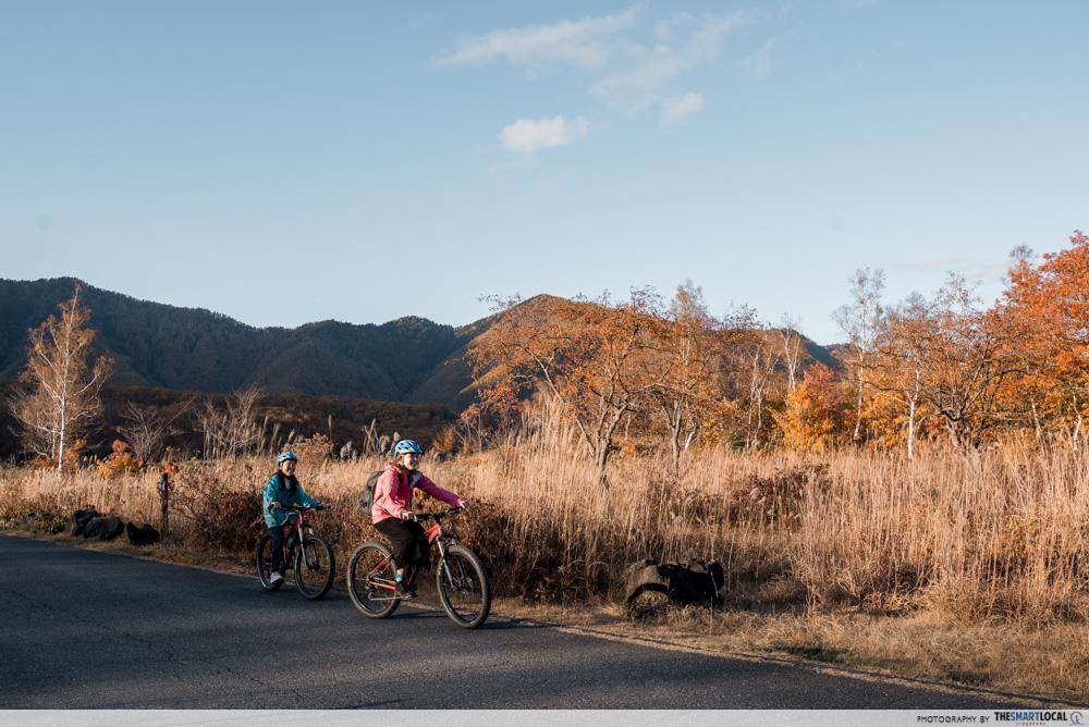 Nagano kamokochi matsumoto guide - norikura mountian biking