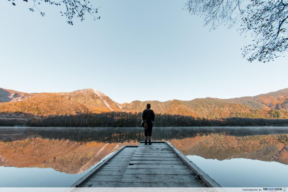 Nagano kamokochi matsumoto guide - taisho pond