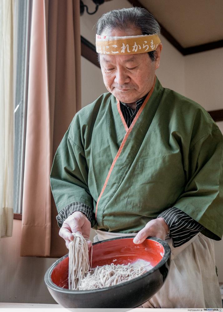 Nagano kamokochi matsumoto guide - takagi soba sensei soba
