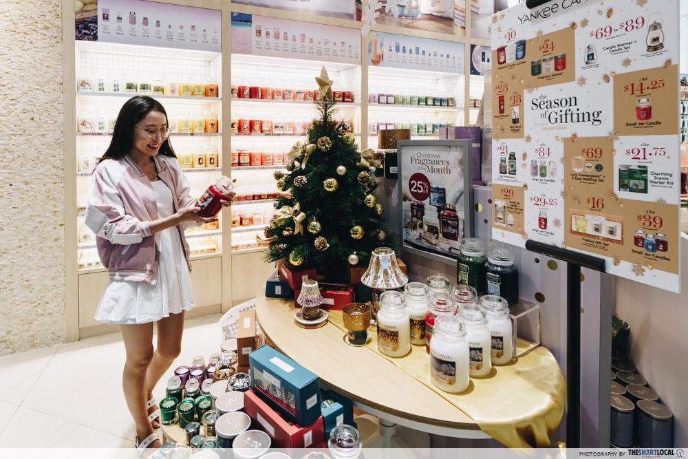 JEM wonderland themed christmas 2018 - yankee candle