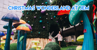 JEM wonderland themed christmas 2018 - cover image