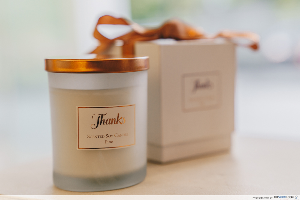 special scented candle
