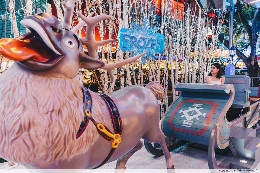 sven the reindeer sleigh
