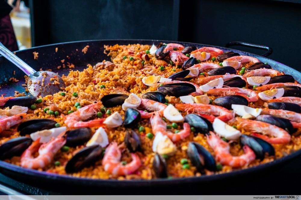 feastival octapas marisco paella