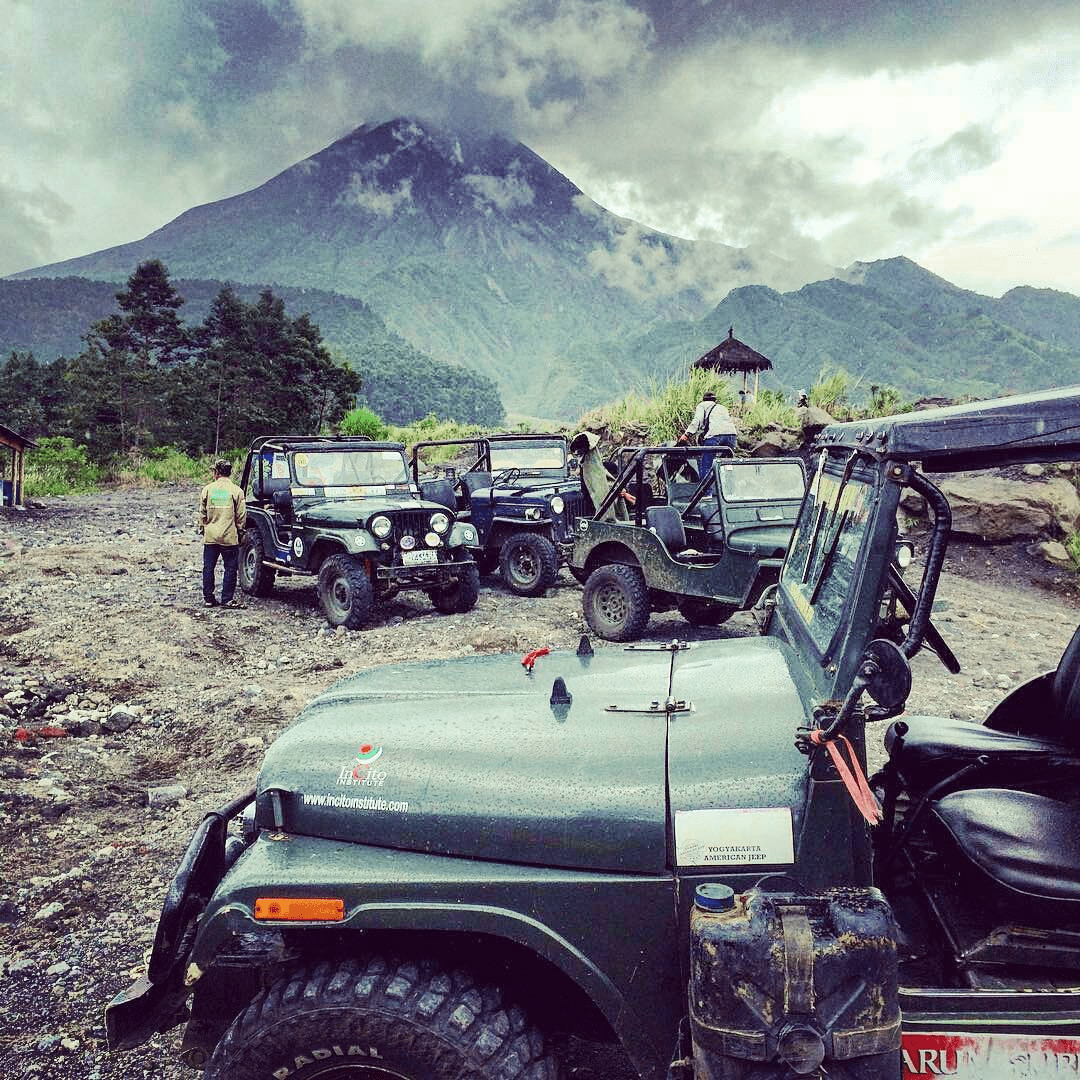 mount merapi jeeps