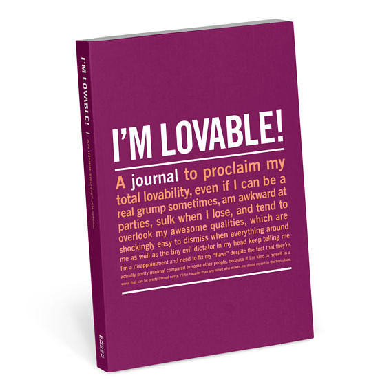 i'm lovable notebook