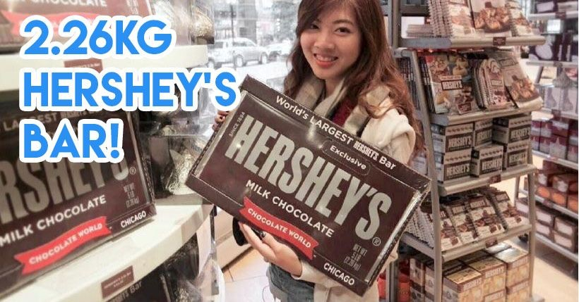 Giant Hershey's chocolate honestbee
