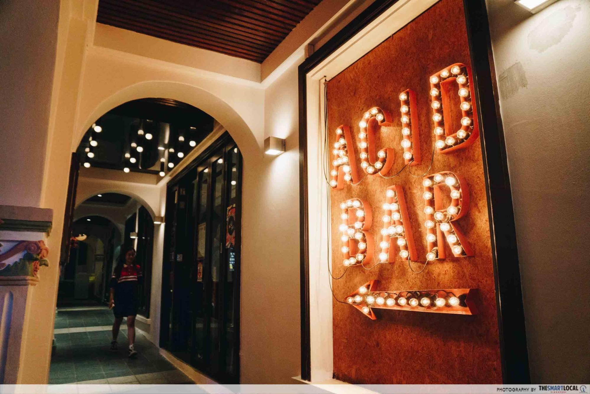 acid bar establishment