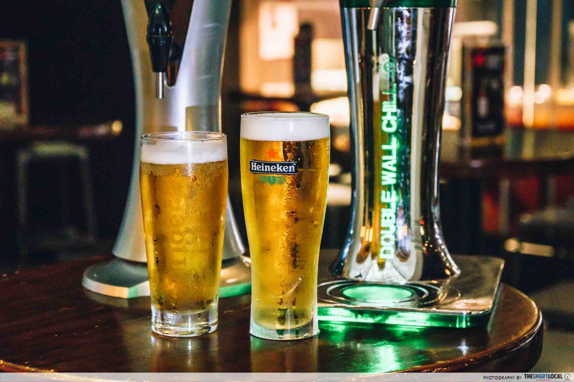 acid bar heineken beer