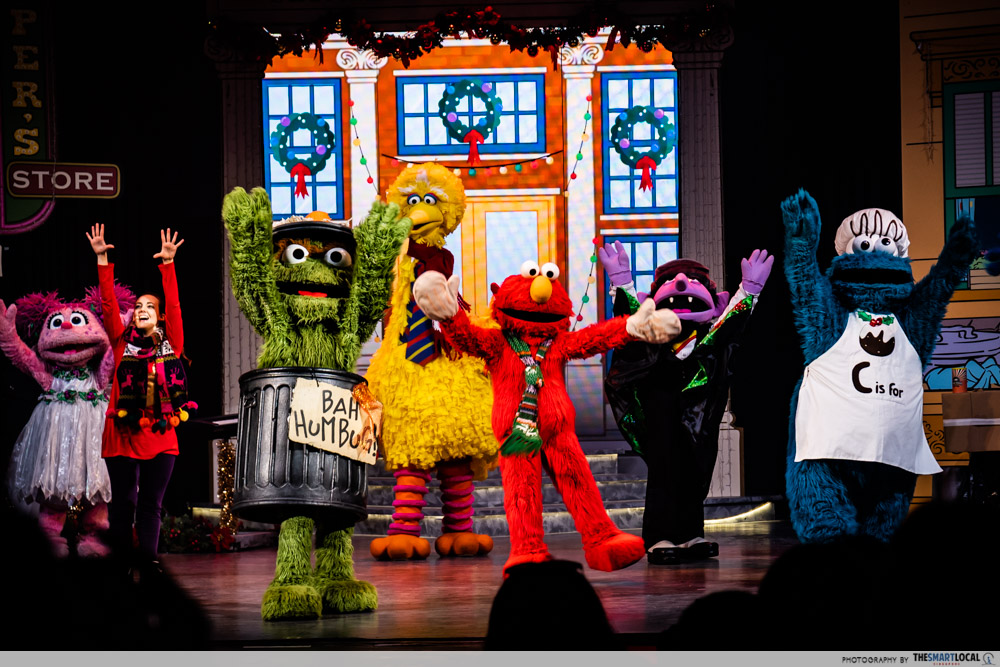 sesame street performance