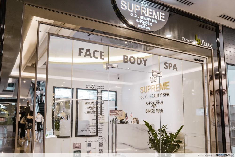supreme q.x. beauty spa
