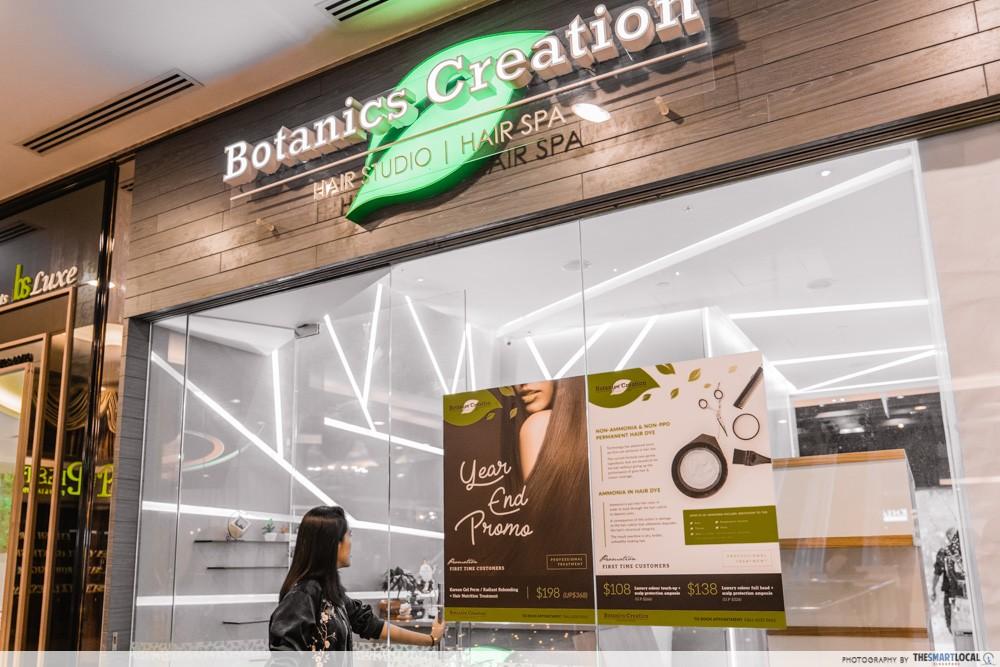 botanics creation hair studio