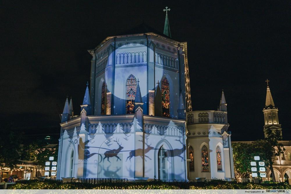 CHIJMES - Christmas light show