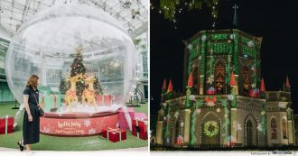 Capitol Singapore and CHIJMES - Christmas 2018