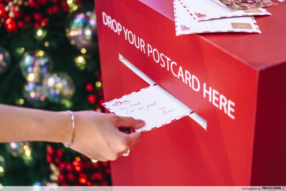 postcard mail
