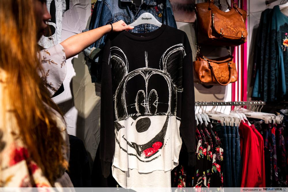 raffles city mickey mouse