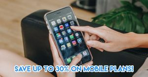 Get mobile plan discounts with Singtel Circle