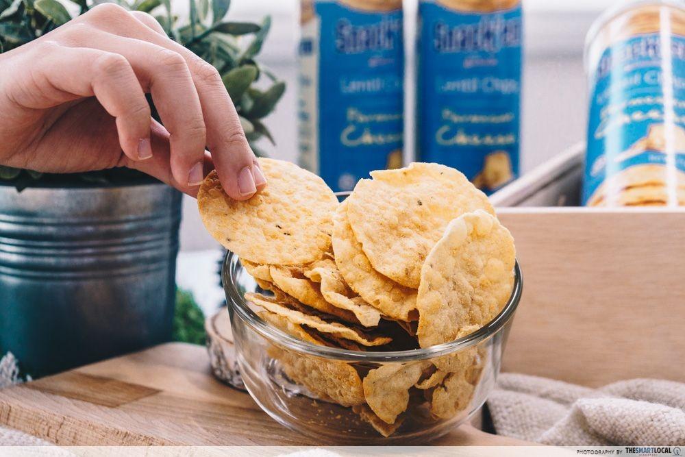 Gardenia Snack'em Lentil Chips
