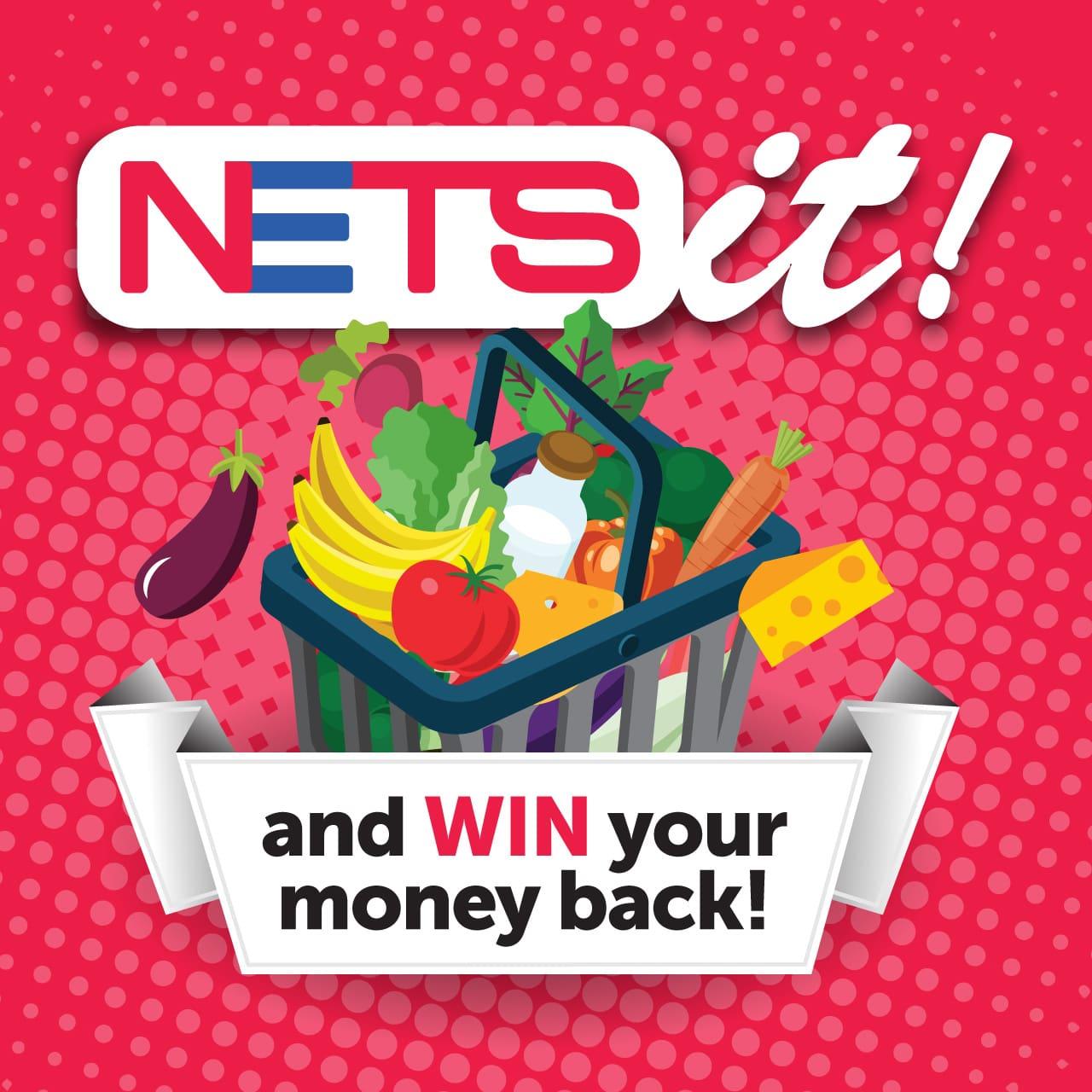 nets it groceries