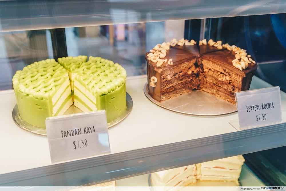 Queen of Treats - Pandan Kaya cake