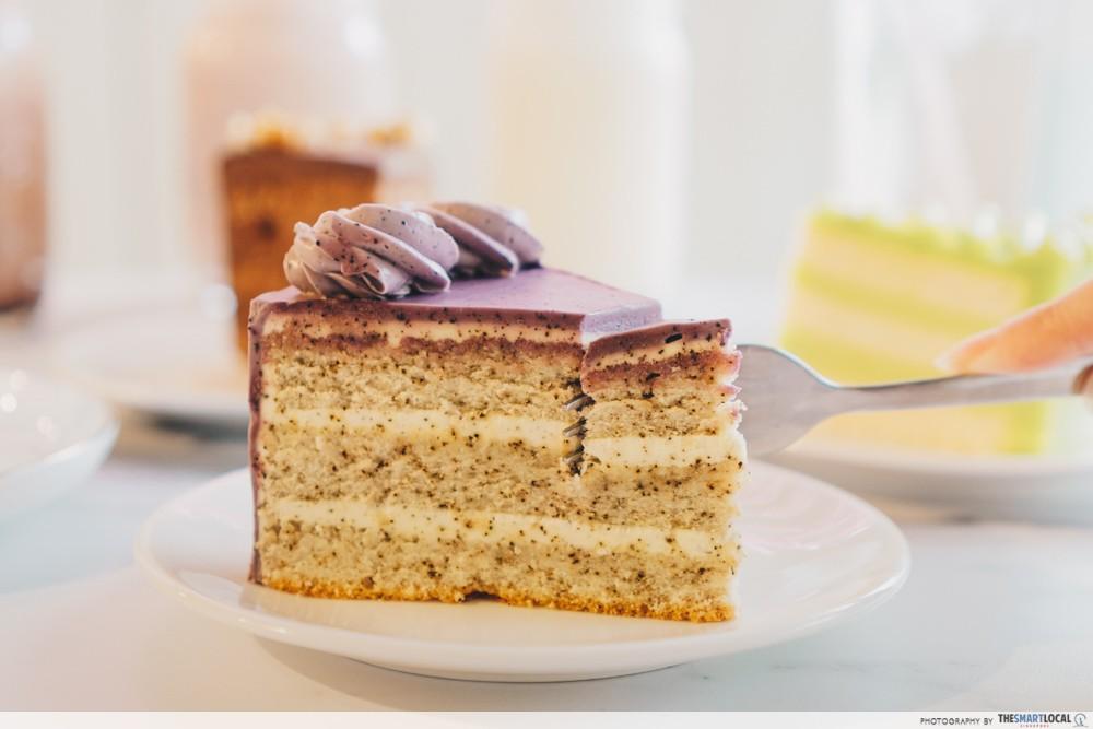 Queen of Treats - Earl Grey Lavender Cake