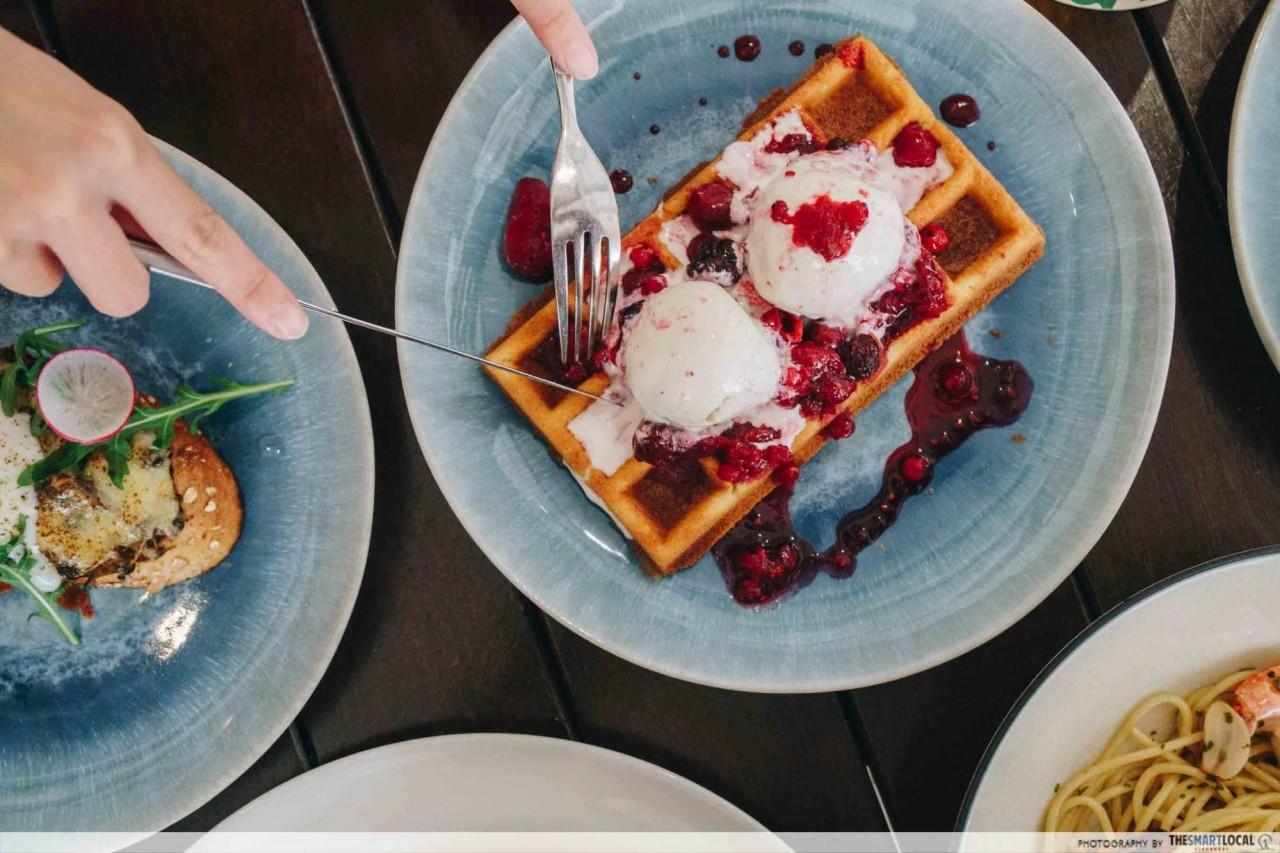 belgian waffles orchard hej kitchen