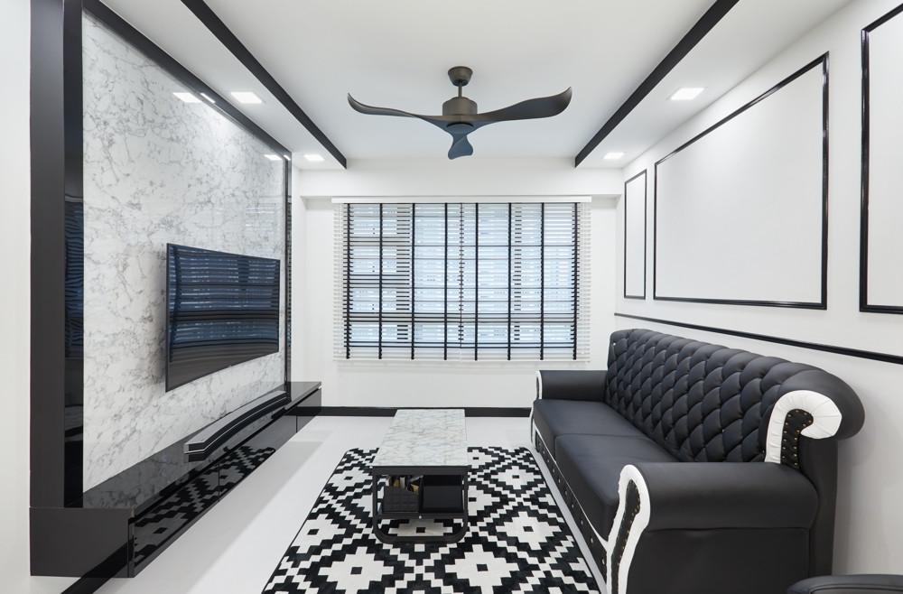 Design4Space - HDB renovations budget - minimalist