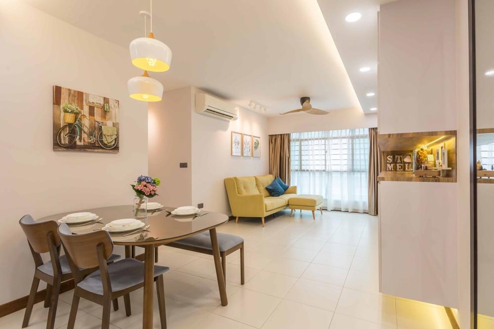 Design4Space - HDB renovations budget - modern