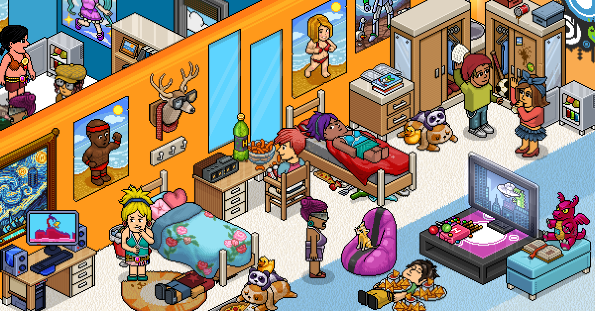 habbo rooms