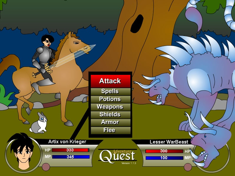 battleon battle scene