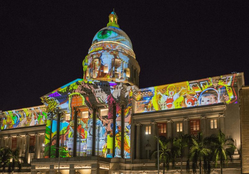 art skins on monuments