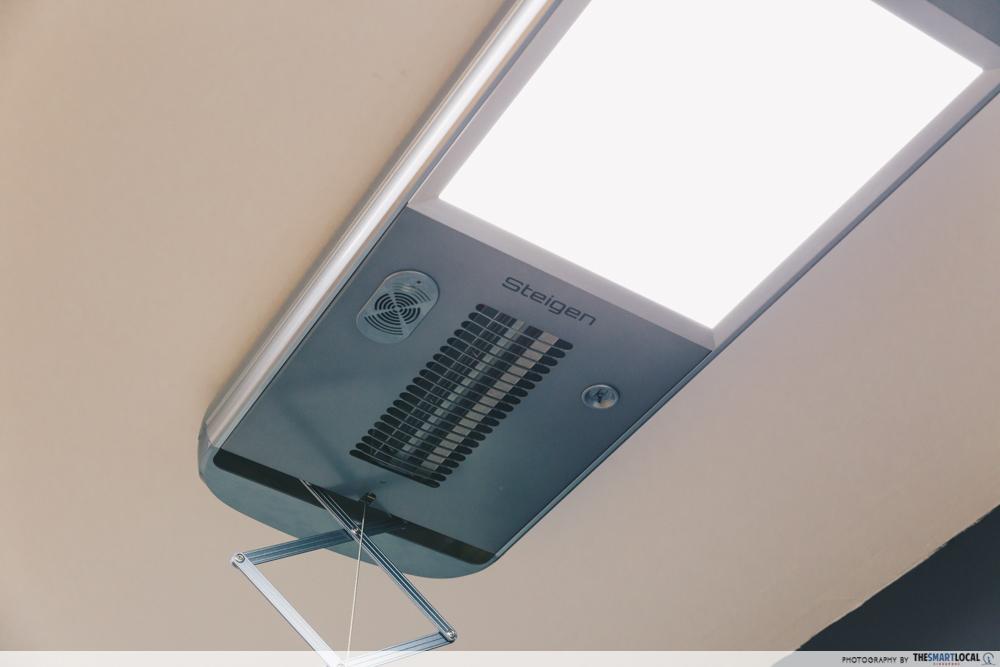 Steigen - heating system