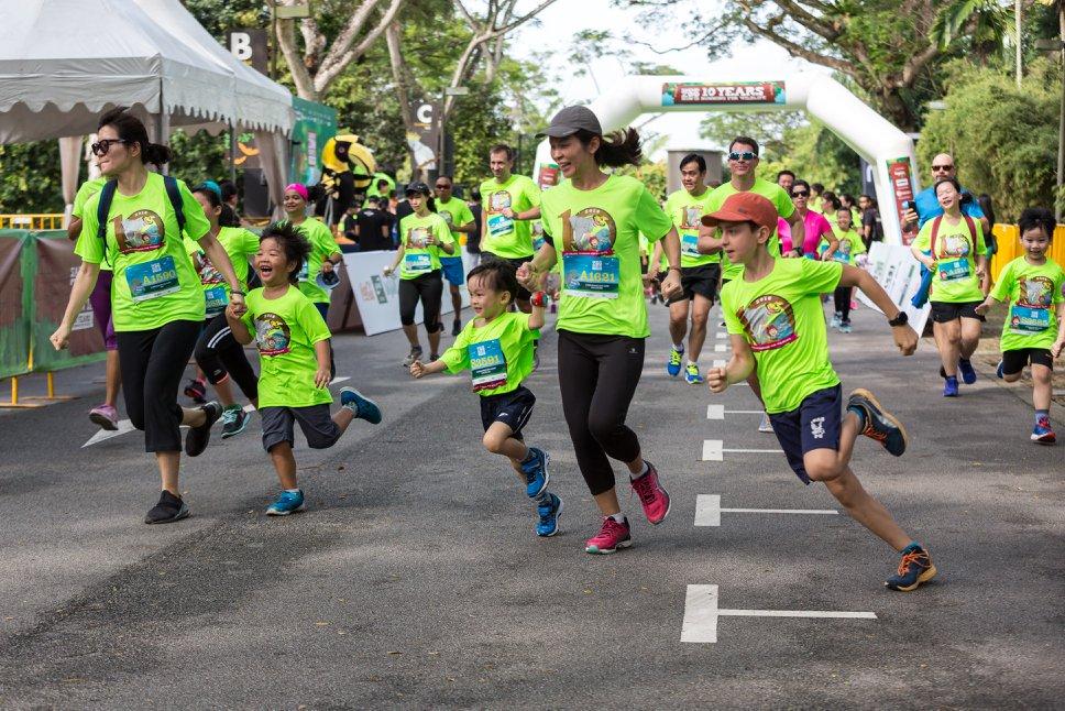 Family friendly races at Safari Zoo Run
